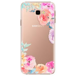 Plastové puzdro iSaprio - Flower Brush - Samsung Galaxy J4+