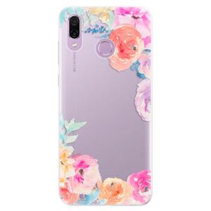 Silikónové puzdro iSaprio - Flower Brush - Huawei Honor Play