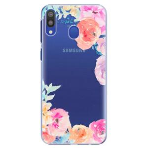 Plastové puzdro iSaprio - Flower Brush - Samsung Galaxy M20