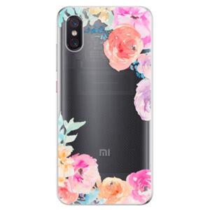 Odolné silikonové pouzdro iSaprio - Flower Brush - Xiaomi Mi 8 Pro