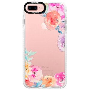 Silikónové púzdro Bumper iSaprio - Flower Brush - iPhone 7 Plus