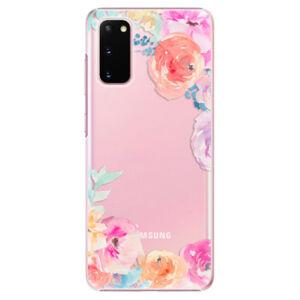 Plastové puzdro iSaprio - Flower Brush - Samsung Galaxy S20