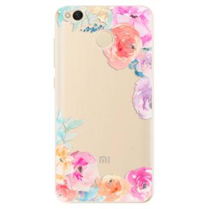 Odolné silikónové puzdro iSaprio - Flower Brush - Xiaomi Redmi 4X