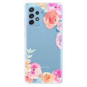 Odolné silikónové puzdro iSaprio - Flower Brush - Samsung Galaxy A72