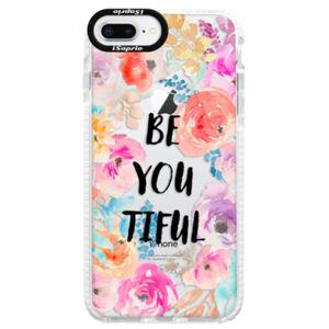 Silikónové púzdro Bumper iSaprio - BeYouTiful - iPhone 8 Plus