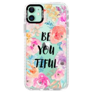 Silikónové puzdro Bumper iSaprio - BeYouTiful - iPhone 11