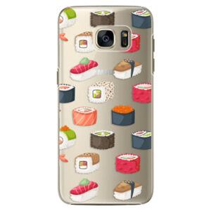 Plastové puzdro iSaprio - Sushi Pattern - Samsung Galaxy S7 Edge