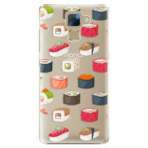 Plastové puzdro iSaprio - Sushi Pattern - Huawei Honor 7