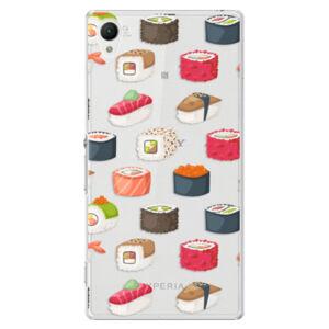 Plastové puzdro iSaprio - Sushi Pattern - Sony Xperia Z1