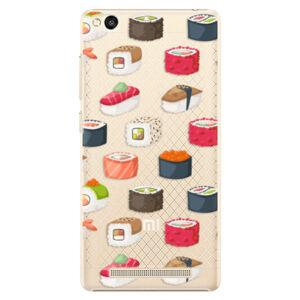 Plastové puzdro iSaprio - Sushi Pattern - Xiaomi Redmi 3