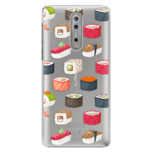 Plastové puzdro iSaprio - Sushi Pattern - Nokia 8
