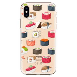 Plastové puzdro iSaprio - Sushi Pattern - iPhone XS