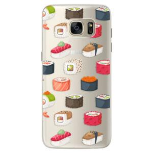 Silikónové puzdro iSaprio - Sushi Pattern - Samsung Galaxy S7