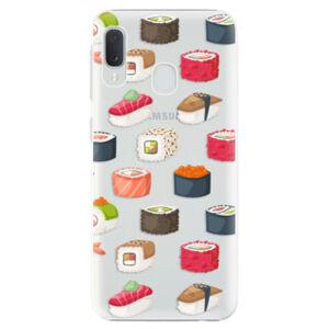 Plastové puzdro iSaprio - Sushi Pattern - Samsung Galaxy A20e