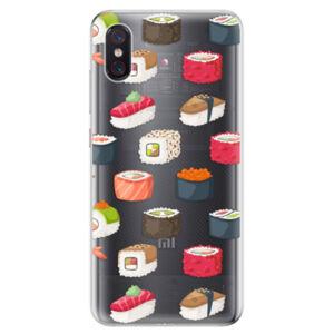 Odolné silikonové pouzdro iSaprio - Sushi Pattern - Xiaomi Mi 8 Pro