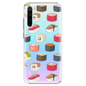 Plastové puzdro iSaprio - Sushi Pattern - Xiaomi Redmi Note 8