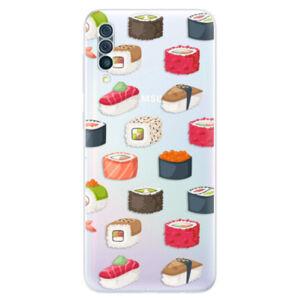 Odolné silikónové puzdro iSaprio - Sushi Pattern - Samsung Galaxy A50