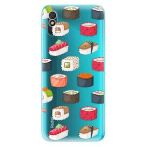 Odolné silikónové puzdro iSaprio - Sushi Pattern - Xiaomi Redmi 9A