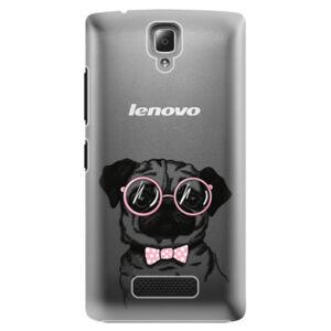 Plastové puzdro iSaprio - The Pug - Lenovo A2010