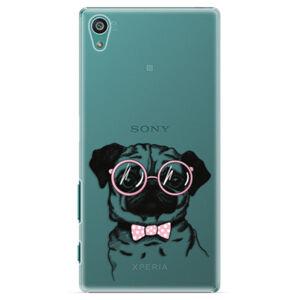 Plastové puzdro iSaprio - The Pug - Sony Xperia Z5