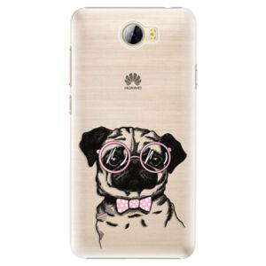 Plastové puzdro iSaprio - The Pug - Huawei Y5 II / Y6 II Compact