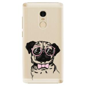 Plastové puzdro iSaprio - The Pug - Xiaomi Redmi Note 4