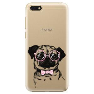 Plastové puzdro iSaprio - The Pug - Huawei Honor 7S
