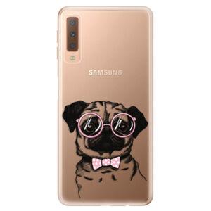 Odolné silikónové puzdro iSaprio - The Pug - Samsung Galaxy A7 (2018)
