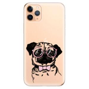 Odolné silikónové puzdro iSaprio - The Pug - iPhone 11 Pro Max
