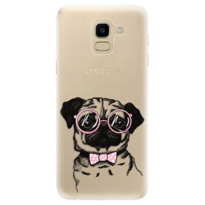 Odolné silikónové puzdro iSaprio - The Pug - Samsung Galaxy J6