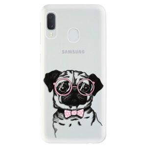 Odolné silikónové puzdro iSaprio - The Pug - Samsung Galaxy A20e