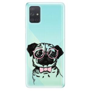 Odolné silikónové puzdro iSaprio - The Pug - Samsung Galaxy A71
