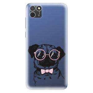 Odolné silikónové puzdro iSaprio - The Pug - Honor 9S