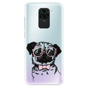 Plastové puzdro iSaprio - The Pug - Xiaomi Redmi Note 9