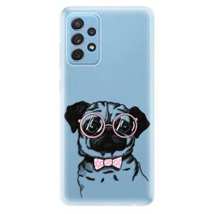 Odolné silikónové puzdro iSaprio - The Pug - Samsung Galaxy A72