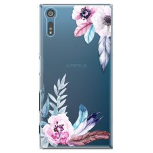 Plastové puzdro iSaprio - Flower Pattern 04 - Sony Xperia XZ