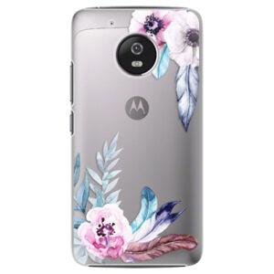 Plastové puzdro iSaprio - Flower Pattern 04 - Lenovo Moto G5