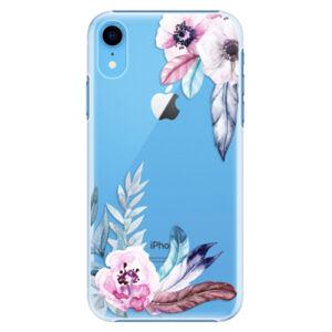 Plastové puzdro iSaprio - Flower Pattern 04 - iPhone XR