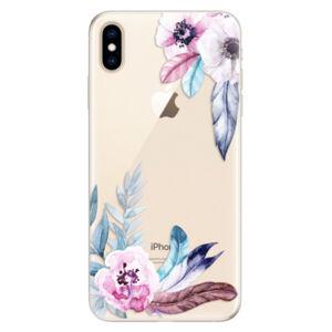 Silikónové puzdro iSaprio - Flower Pattern 04 - iPhone XS Max