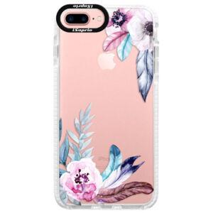 Silikónové púzdro Bumper iSaprio - Flower Pattern 04 - iPhone 7 Plus