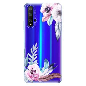 Odolné silikónové puzdro iSaprio - Flower Pattern 04 - Huawei Honor 20