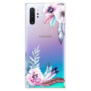 Odolné silikónové puzdro iSaprio - Flower Pattern 04 - Samsung Galaxy Note 10+
