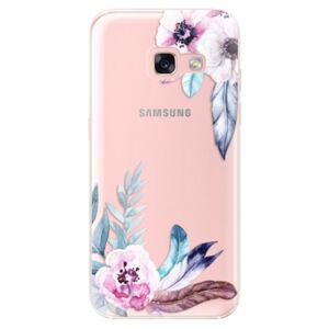 Odolné silikónové puzdro iSaprio - Flower Pattern 04 - Samsung Galaxy A3 2017