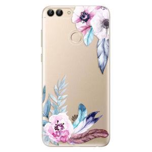 Odolné silikónové puzdro iSaprio - Flower Pattern 04 - Huawei P Smart