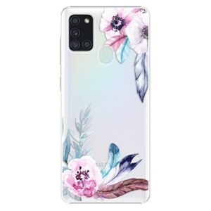 Plastové puzdro iSaprio - Flower Pattern 04 - Samsung Galaxy A21s
