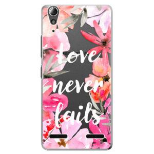 Plastové puzdro iSaprio - Love Never Fails - Lenovo A6000 / K3