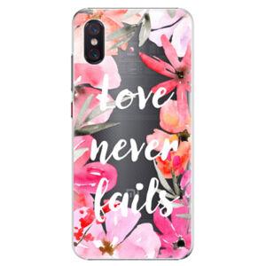 Plastové puzdro iSaprio - Love Never Fails - Xiaomi Mi 8 Pro