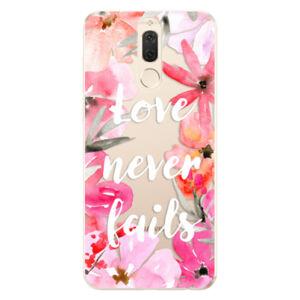 Odolné silikónové puzdro iSaprio - Love Never Fails - Huawei Mate 10 Lite