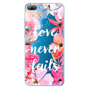 Odolné silikónové puzdro iSaprio - Love Never Fails - Huawei Honor 9 Lite