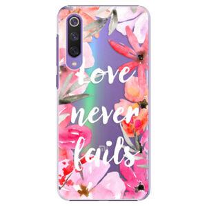 Plastové puzdro iSaprio - Love Never Fails - Xiaomi Mi 9 SE